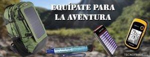 Kit de supervivencia para aventureros, amantes de la tecnología y el aire libre