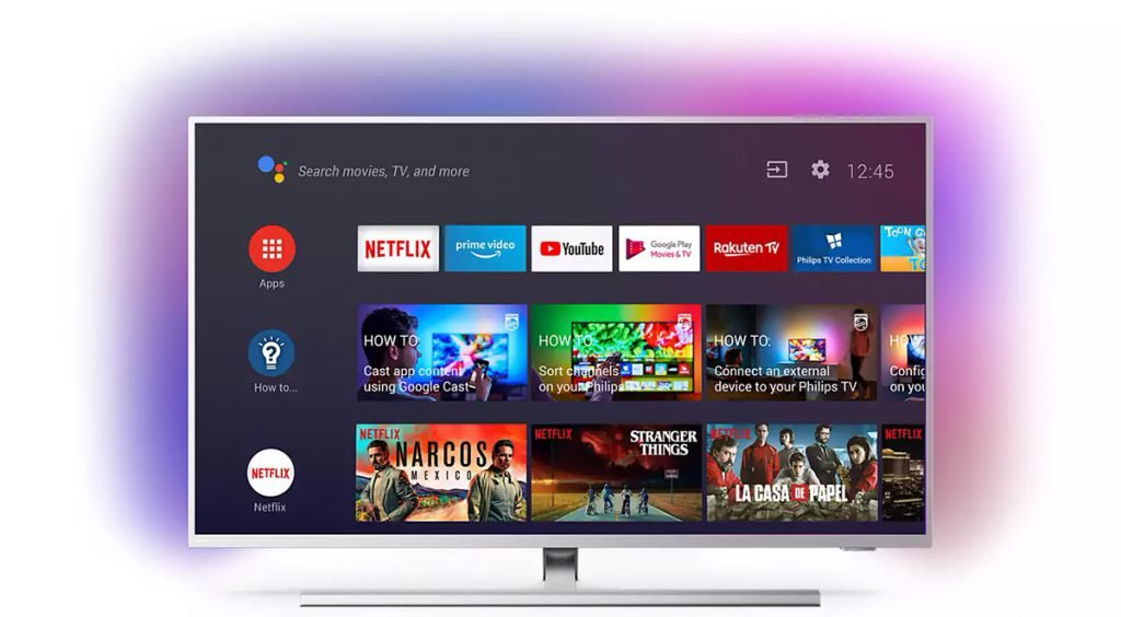 Philips 50PUS8505, con Android TV
