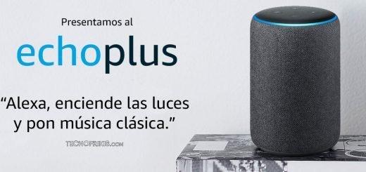 Análisis de Echo Plus para Alexa de Amazon en Tecnofrikis.