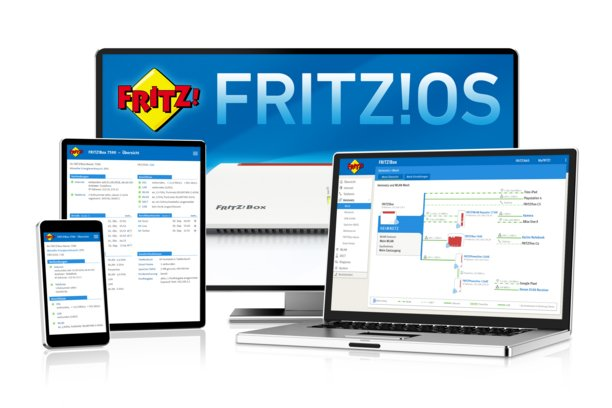 Router AVM FRITZ!Box 7590 - Sistema operativo Fritz