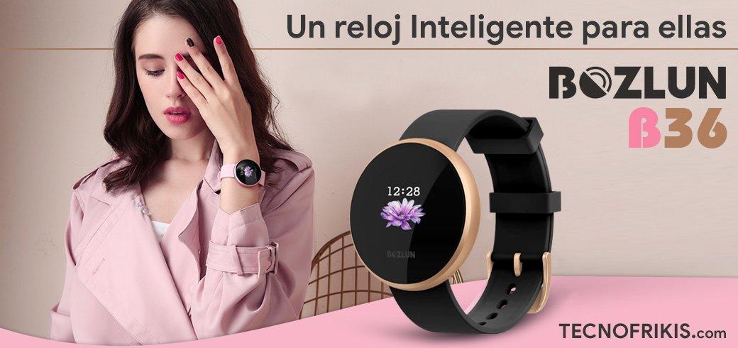Reloj inteligente Bozlun B36