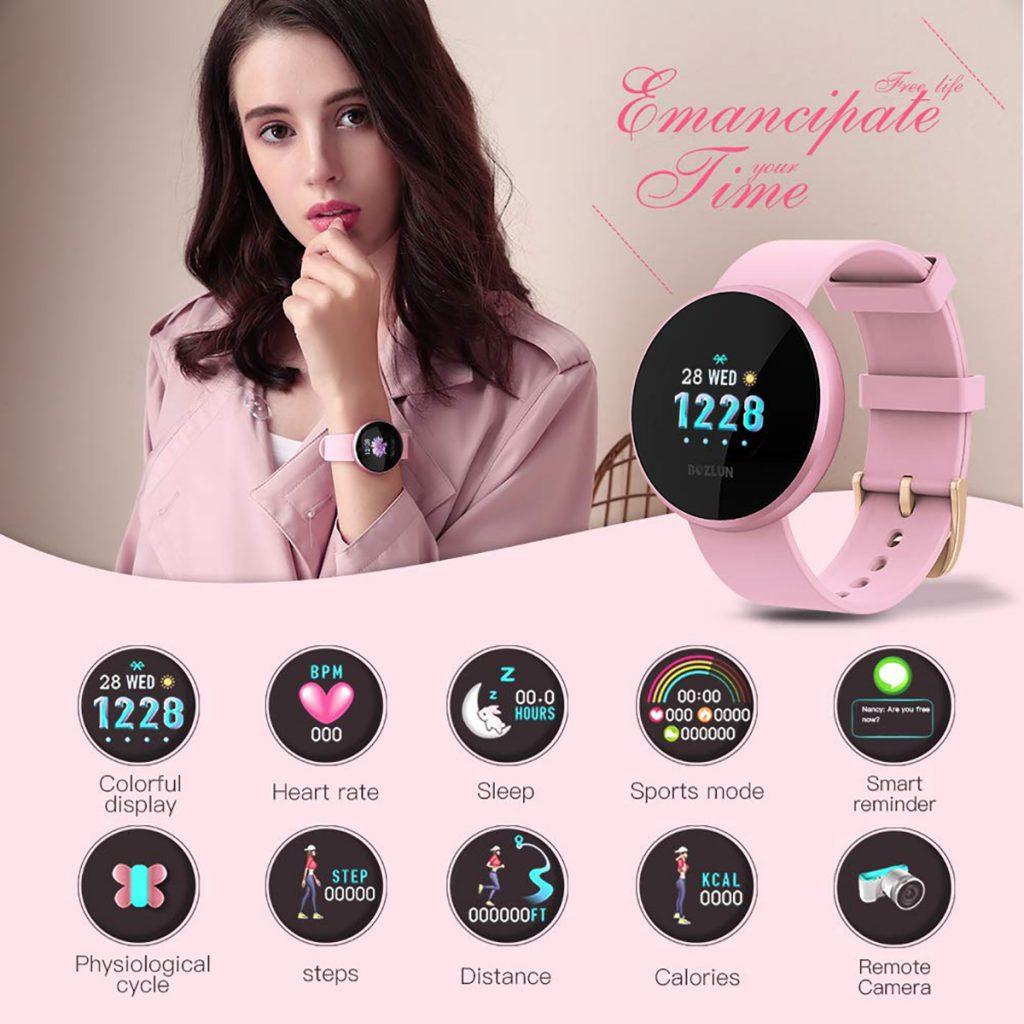 Reloj inteligente Bozlun B36 pink