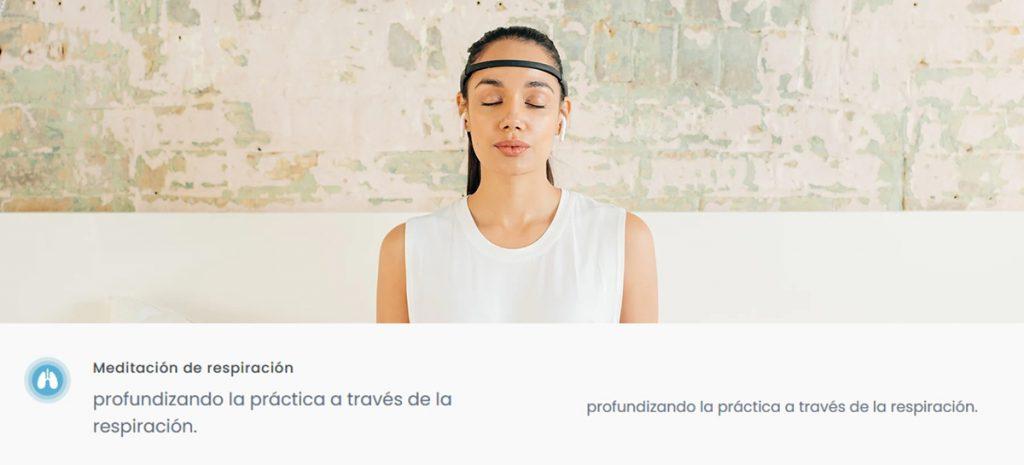 Diadema Muse 2 - meditación de respiración