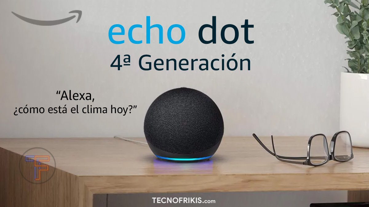 Echo Dot 4ªG - Portada