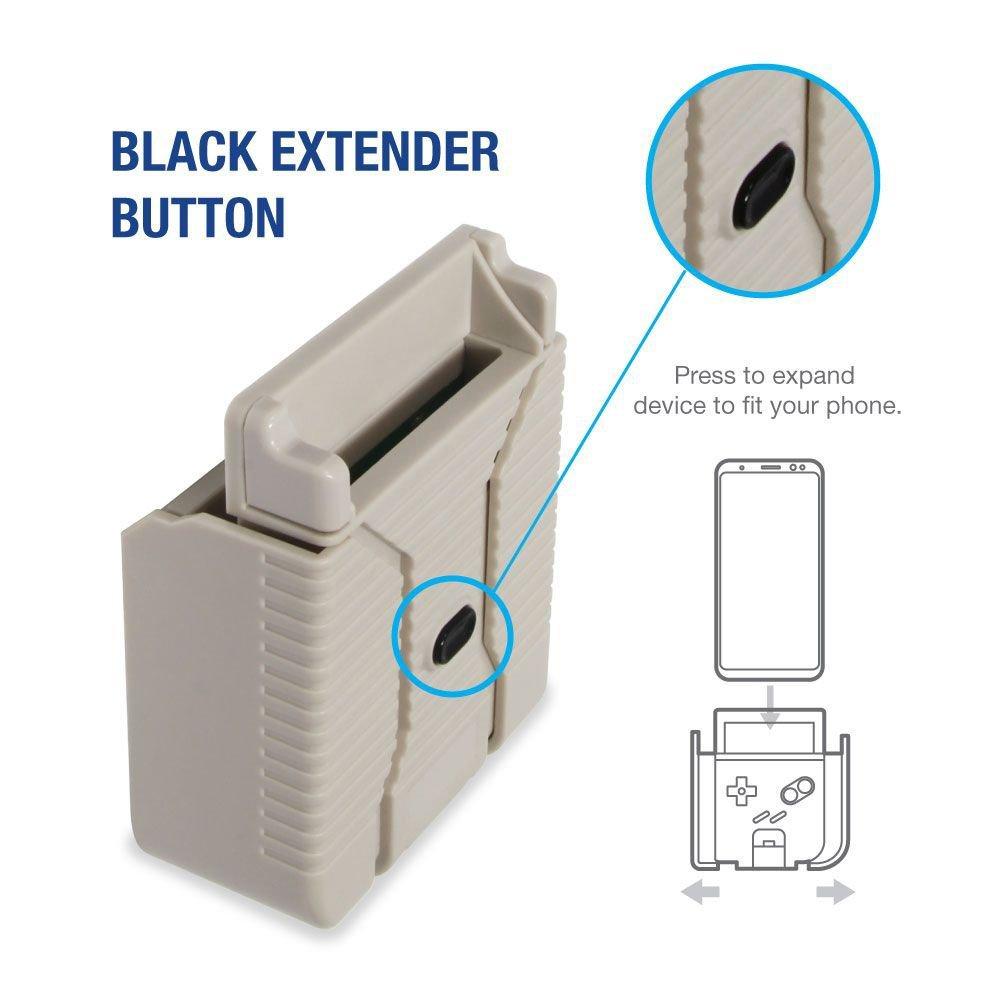 Hyperkin SmartBoy - Botón para ajuste del móvil lateralmente