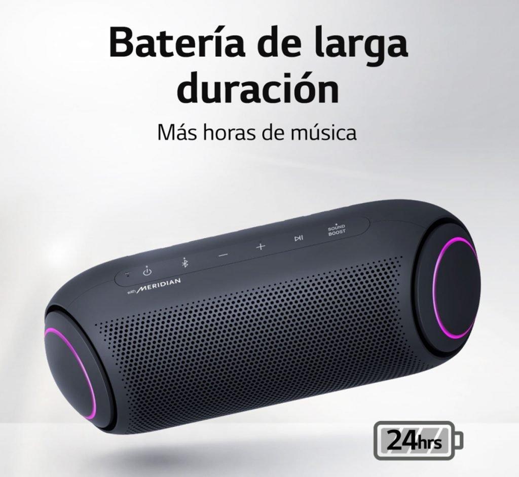 LG XBOOM Go PL5 - Batería de larga Duración