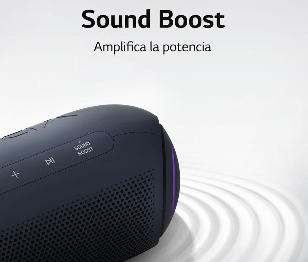 LG XBOOM Go PL5 - Sound Boost