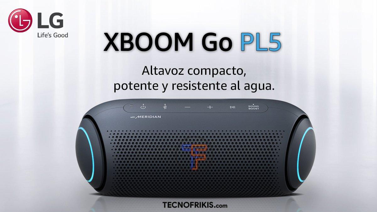LG XBOOM Go PL5 - Portada