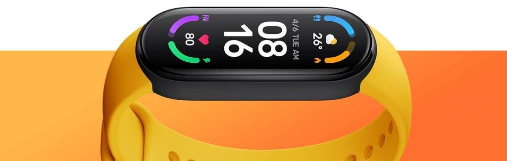 Mi Smart Band 6 - Ahora la pantalla ocupa todo el reloj