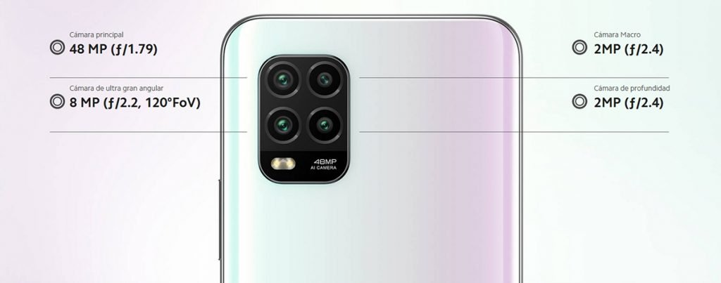 Xiaomi Mi 10 Lite 5G - cámara trasera