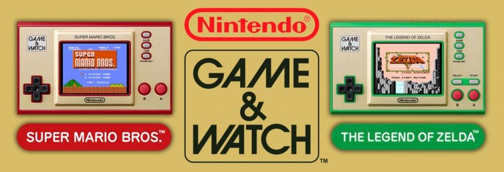 Nintendo Game & Watch Super Mario Bros. & The Legend of Zelda