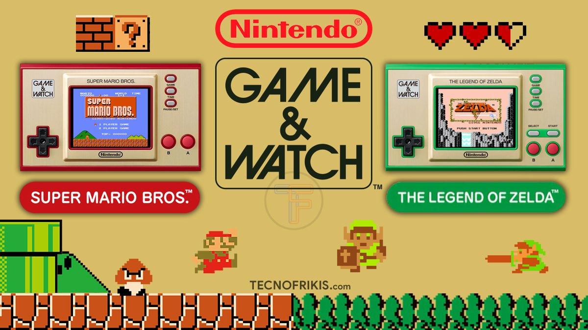 Nintendo Game & Watch - Portada