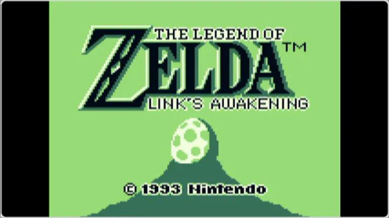 Nintendo Game & Watch Zelda - La versión original salida para Game Boy