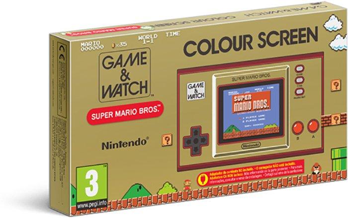 Nintendo Game & Watch Mario - Caja del producto