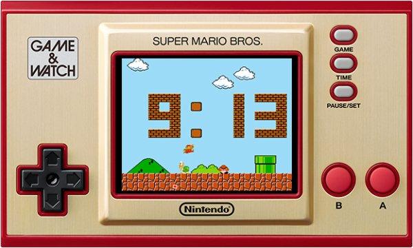 Nintendo Game & Watch Mario - Variados estilos de reloj para elegir