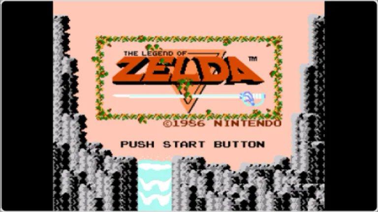 Nintendo Game & Watch Zelda - Juega al The Legend of Zelda original.