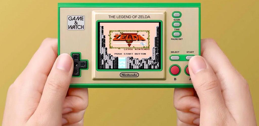 Nintendo Game & Watch Zelda - Controles mejorados
