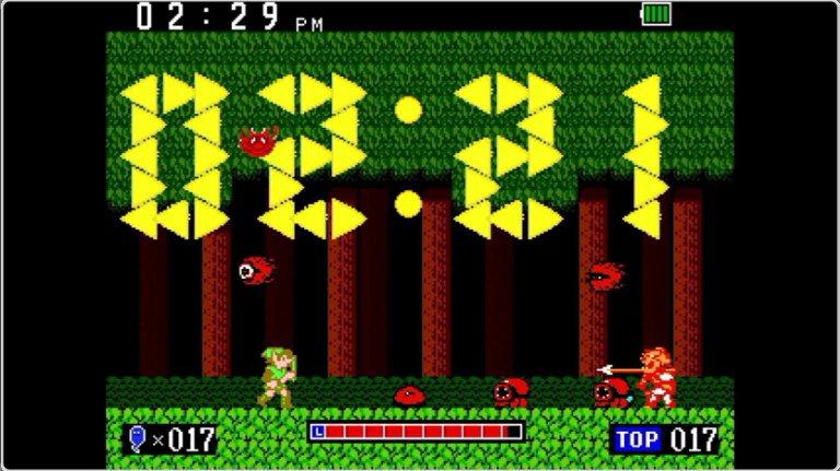 Nintendo Game & Watch Zelda - Timer interactivo