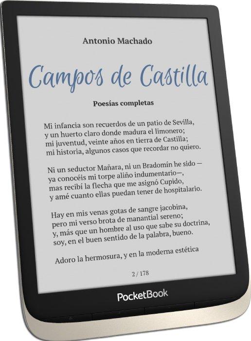 PocketBook InkPad Color - Pantalla a color E Ink Kaleido™ Plus de 7,8 pulgadas