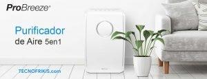 Si estás pensando en mejorar el aire de tu hogar, te presentamos el Purificador de Aire Pro Breeze 5 en 1