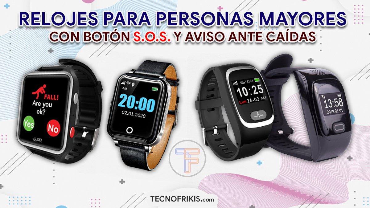 Relojes para personas mayores - Portada