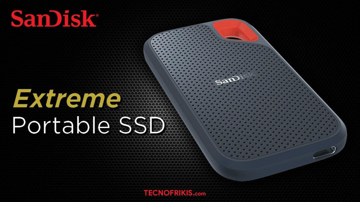 SanDisk Extreme SSD Portada
