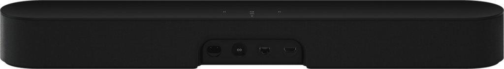 Sonos Beam barra de sonido con Alexa integrada - barra de sonido inteligente para TV y música, altavoz compatible con AirPlay, color negro