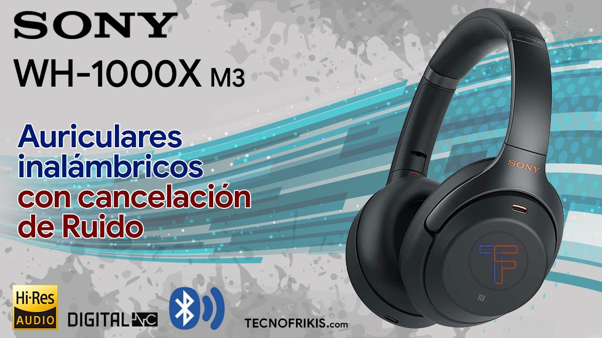 Sony WH-1000XM3 - Portada