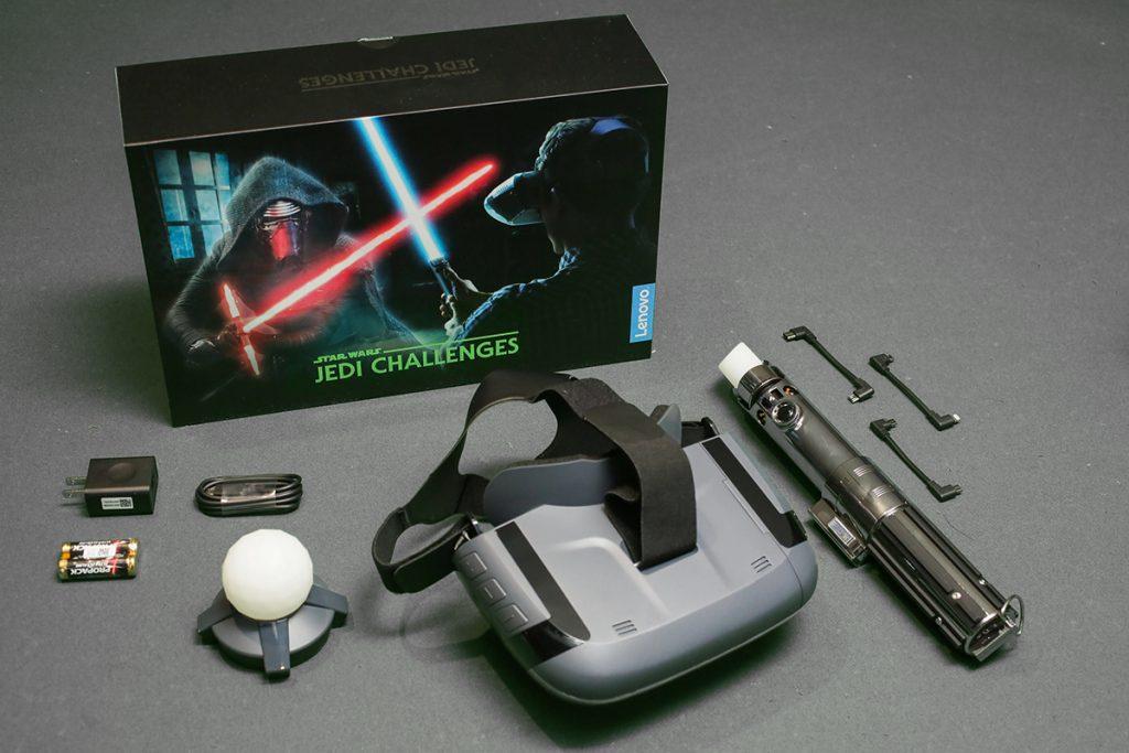 Desafío Jedi Partes