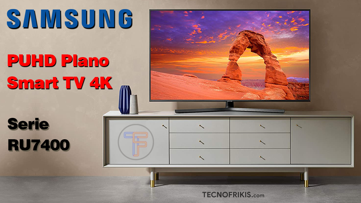 TV Samsung 4K Portada