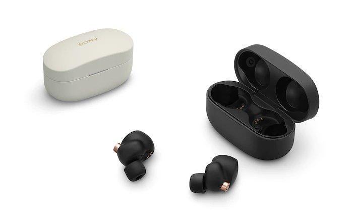 Sony WF-1000XM4 - Auriculares True Wireless con Noise Cancelling, hasta 24 horas de autonomía con el estuche de carga, con micrófono incorporado para llamadas, conexión Bluetooth precisa