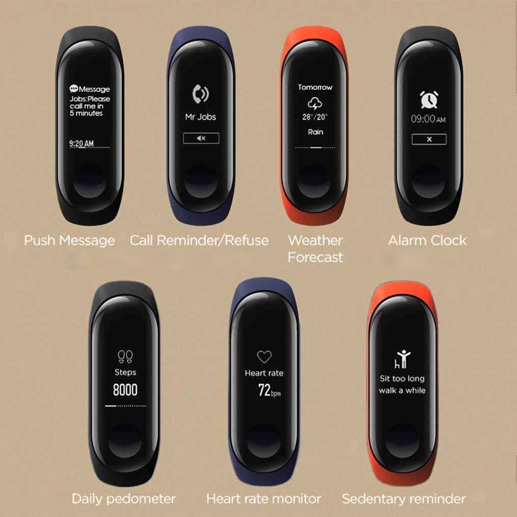 Xiaomi Mi Band 3 - Pulsera de actividad con Heart Rate en la muñeca