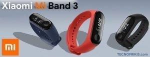 Descubre la última pulsera de actividad de Xiaomi, la MI Band 3