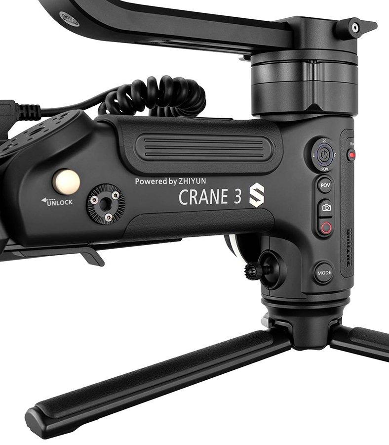 Zhiyun Crane 3S - controles 2