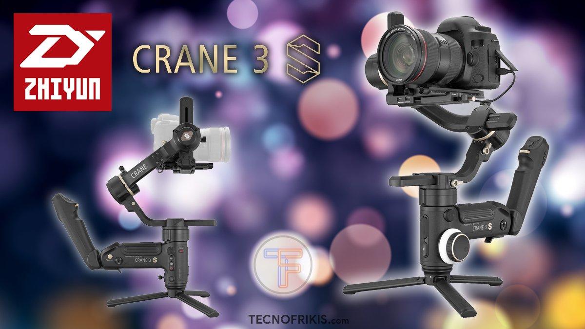 Zhiyun Crane 3S - Portada